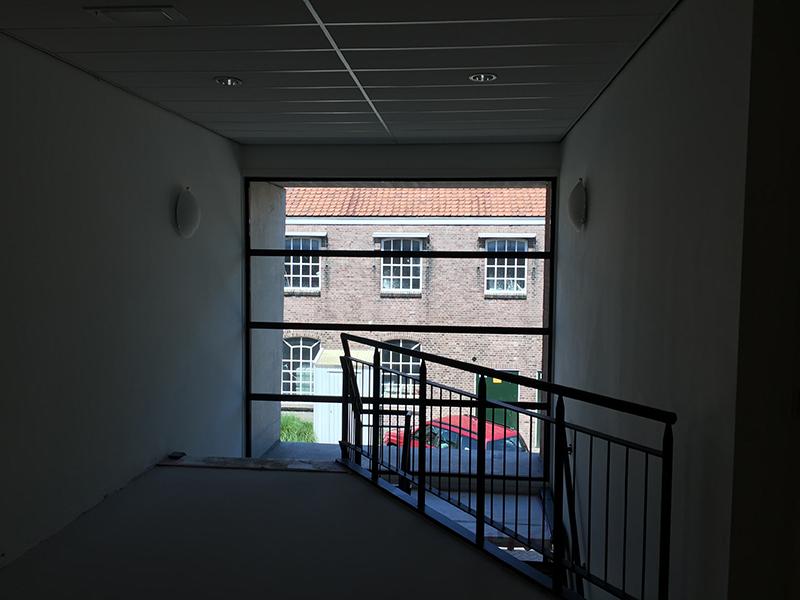 Trappenhuis Bedrijfsverzamelgebouw kantoor Utrecht Kanaalweg