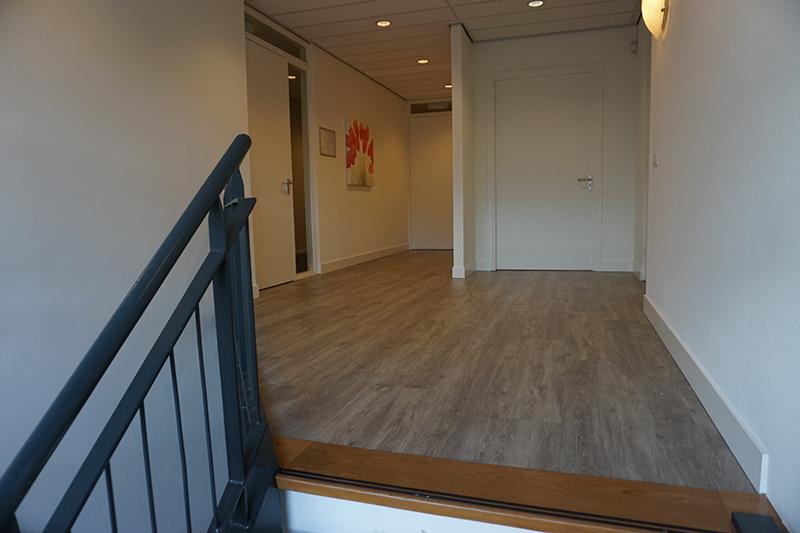 Overloop bovenverdieping Bedrijfsverzamelgebouw Kanaalweg 22 Utrecht