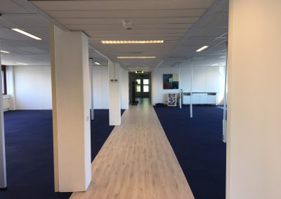 gang 4de etage kantoor pand verzamelgebouw Vliegend Hertlaan 4a Utrecht