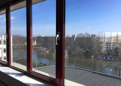 uitzicht 4de etage kantoor pand verzamelgebouw Vliegend Hertlaan 4a Utrecht 2