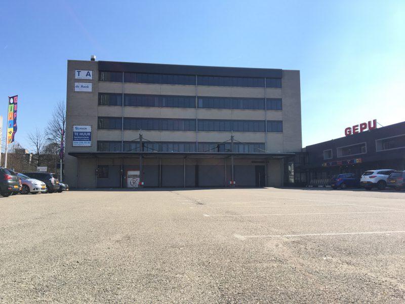 vooraanzicht kantoor pand verzamelgebouw Vliegend Hertlaan 4a Utrecht 3